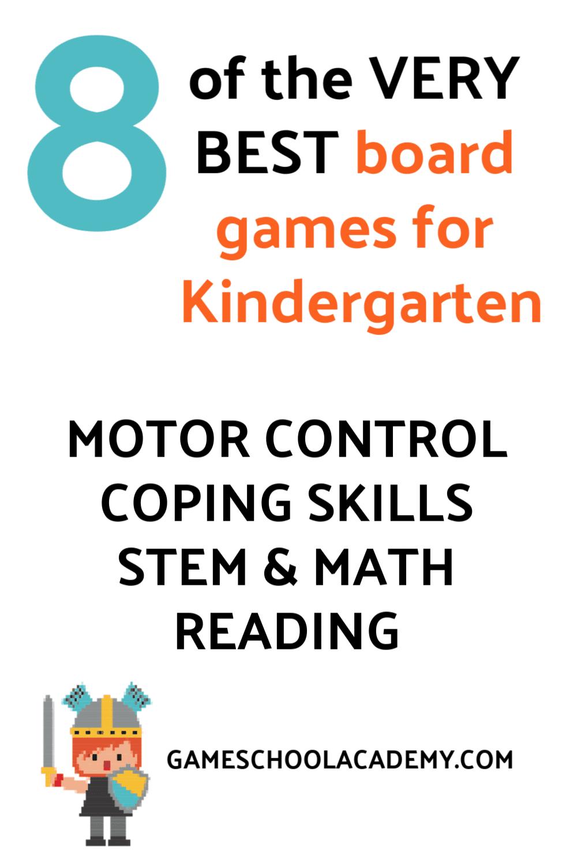 Board Games for Kindergarten