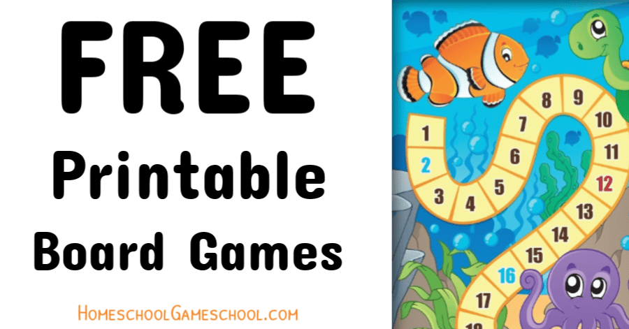 image regarding Printable Board Games called Free of charge Printable Board Online games for Training, Entertaining, or Any Occion!