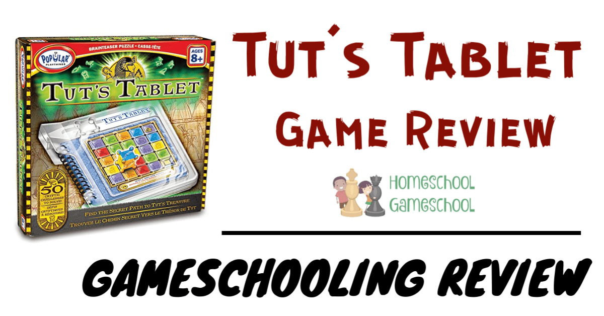 Tut's Tablet Game Review - Gameschooling @ Homeschoolgameschool.com