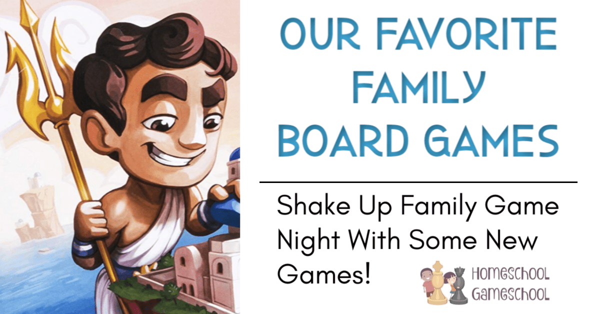 Favorite Family Board Games
