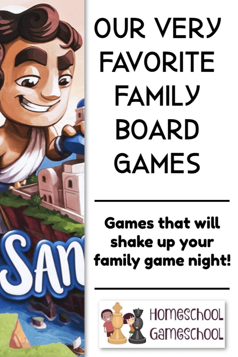Favorite Family Board Game - gameschooling & Secular Homeschooling at HomeschoolGameschool.com