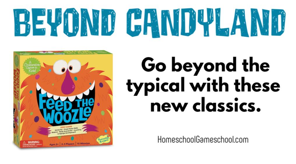 5 preschool games that arent Candyland - Gameschooling@ HomeschoolGameschool.com