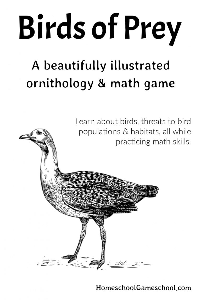 Birds of Prey, an Ornithology Game - educational games & gameschooling @ HomeschoolGameschool.com