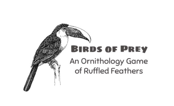 Birds of Prey, An Ornithology Game of Ruffled Feathers - Gameschooling @ HomeschoolGameschool.com