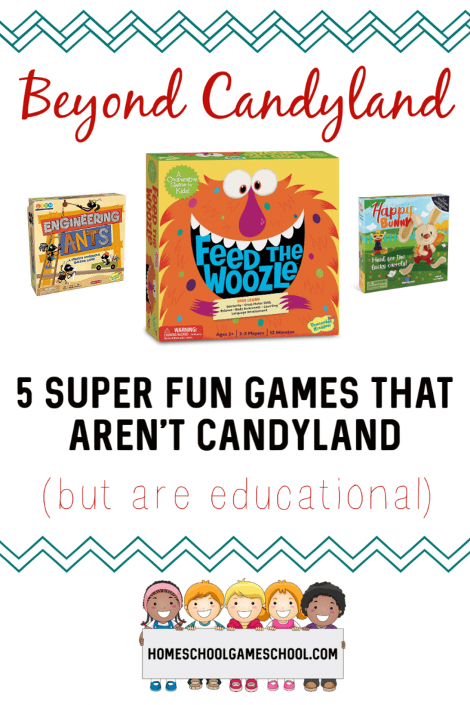 5 Preschool games that aren't Candyland - Gameschooling @