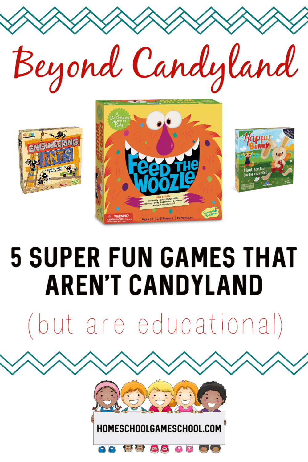 Beyond Candyland: Preschool Games Your Kids Will Love