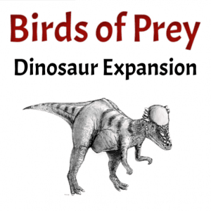 Birds of Prey Dinosaur Expansion Printable Game
