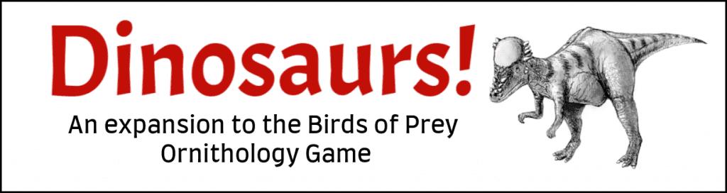 Dinosaur Expansion Birds of Prey Printable Game