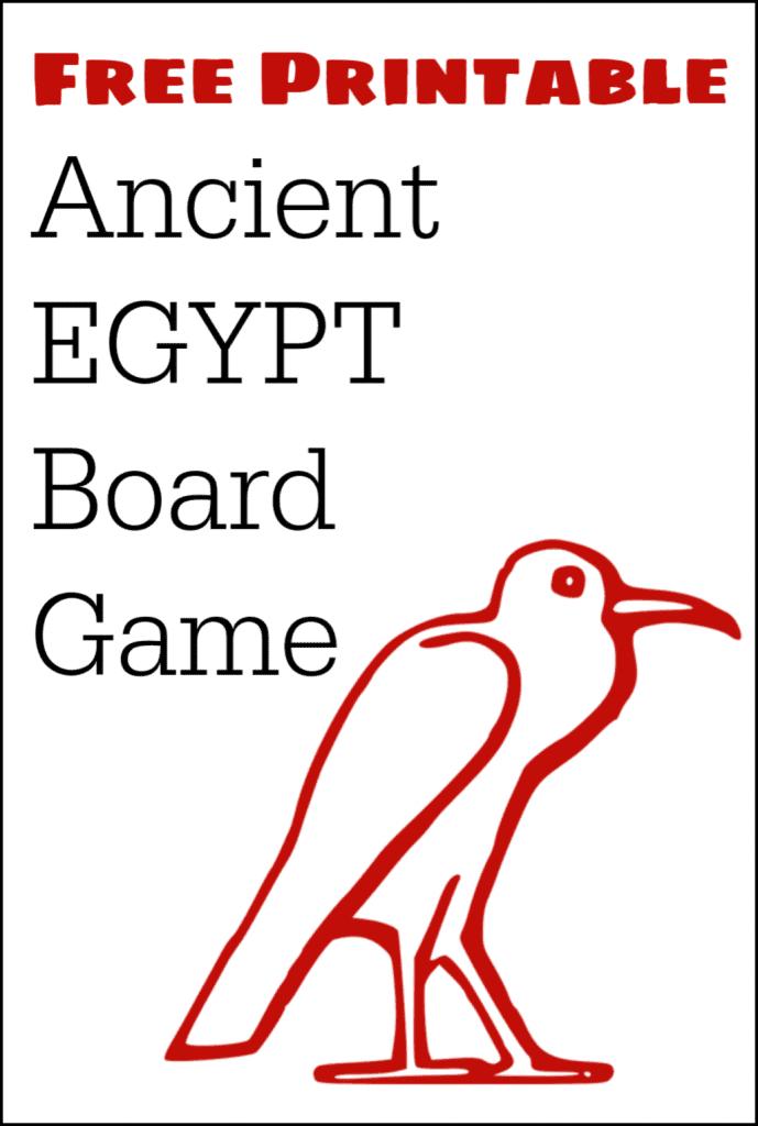 Free printable Ancient Egypt trivia game