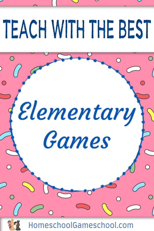 Games for elementary school - Gameschooling @ HomeschoolGameschool.com