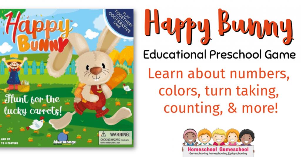 Happy Bunny Educational Preschool Gameschool