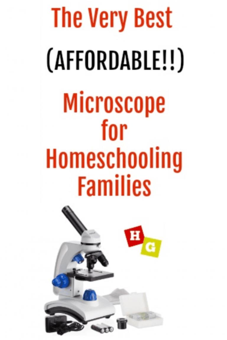 Amscope Microscope Review - Homeschool microscope