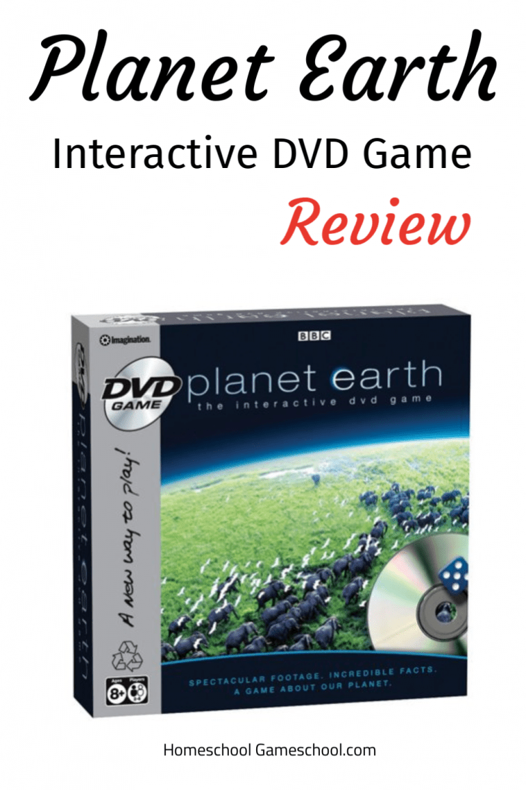Planet Earth Interactive DVD Game review