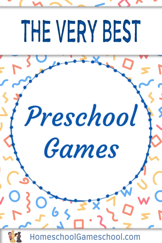 Preschool Games - Gameschooling @ HomeschoolGameschool.com