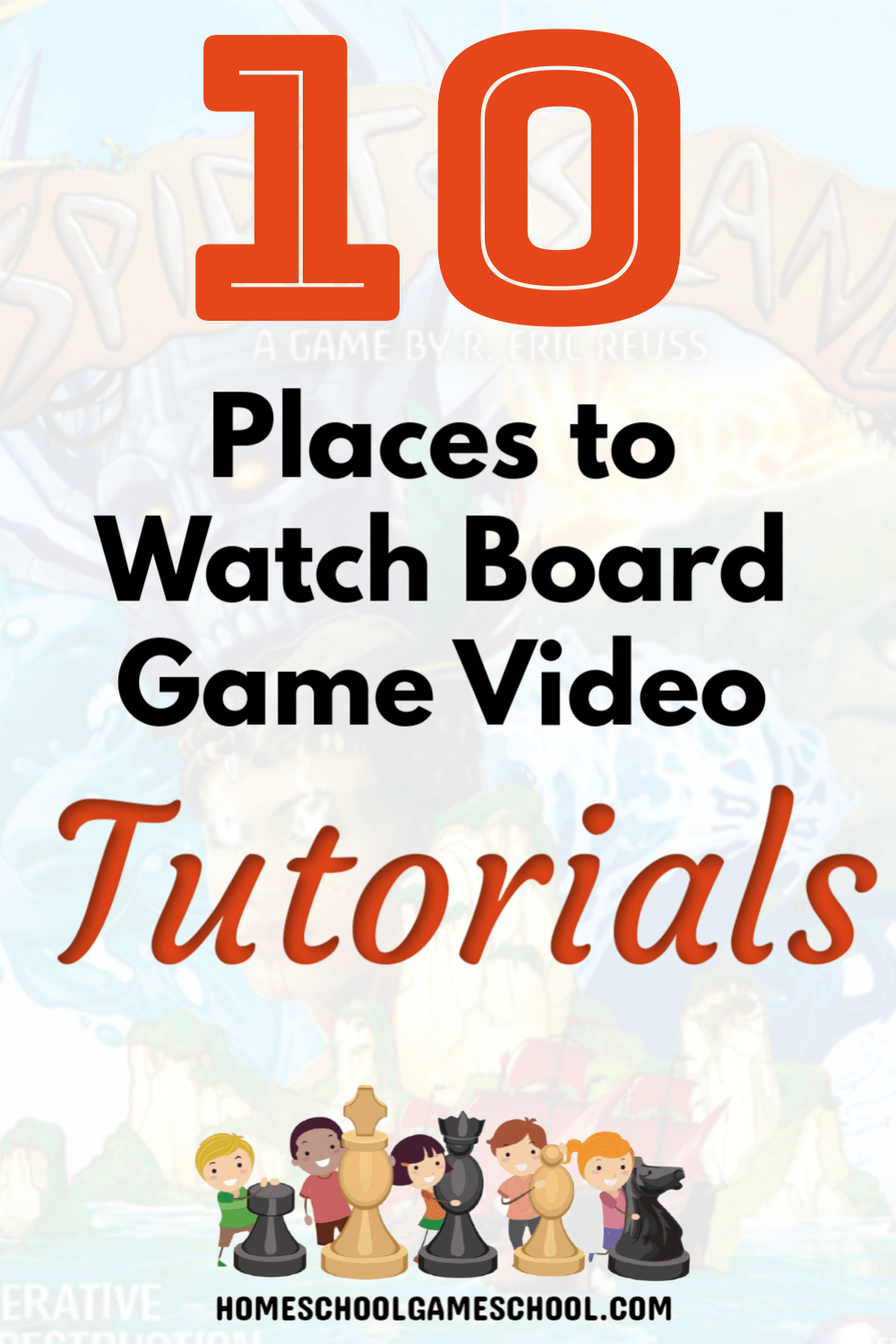 Board Game Tutorials on YouTube