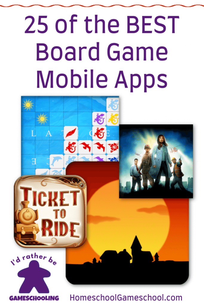 25 of the BEST Board Game Mobile Apps