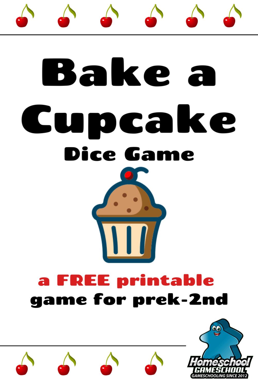 Bake a Cupcake Dice Game