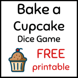 Free printable dice game