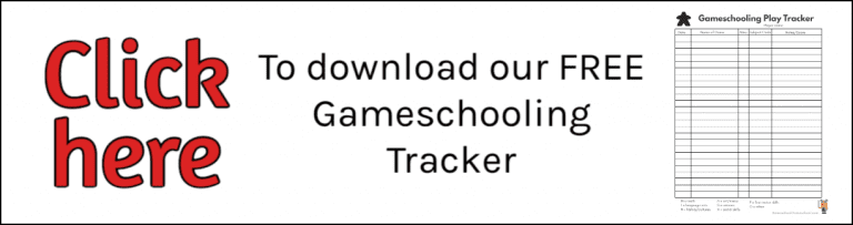 Free Gameschooling Play Tracker