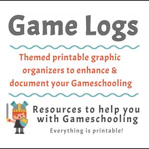 Gameschooling Logs