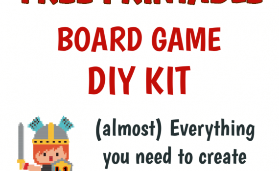 Free Make Your Own Board Game Kit