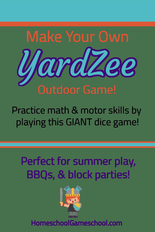 Make Your Own Yardzee Game