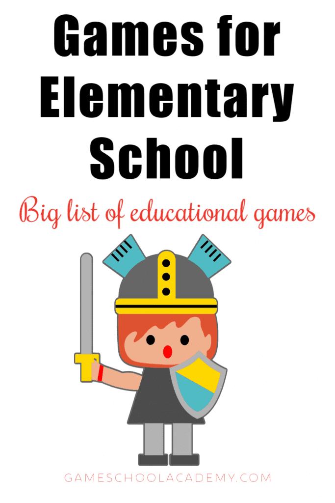 Educational board games for elementary school