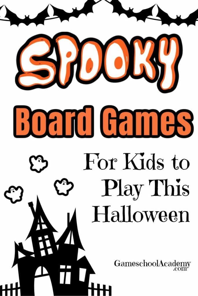 15 Halloween Board Games for Kids