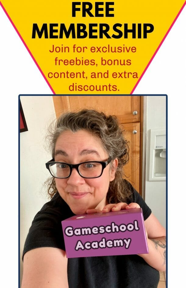 Free Gameschooling Subcsciption!