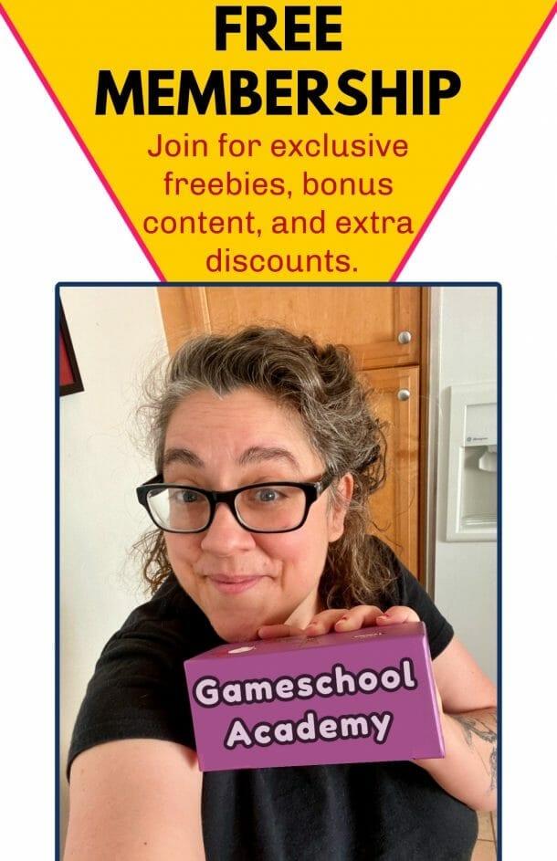 Free Gameschooling Subcsciption!