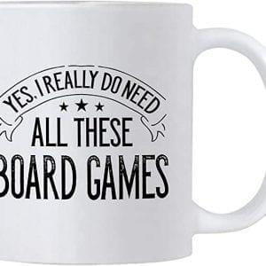 Funny board game mug