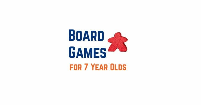 The Best Board Games for 7 Year Olds